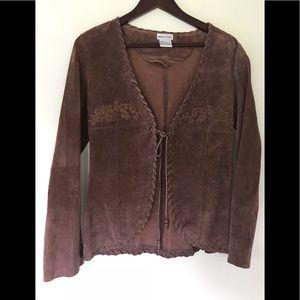 Wet Seal Boho leather jacket